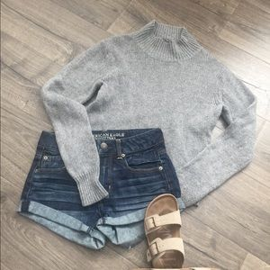 Brandy Melville gray cardigan ~ one size